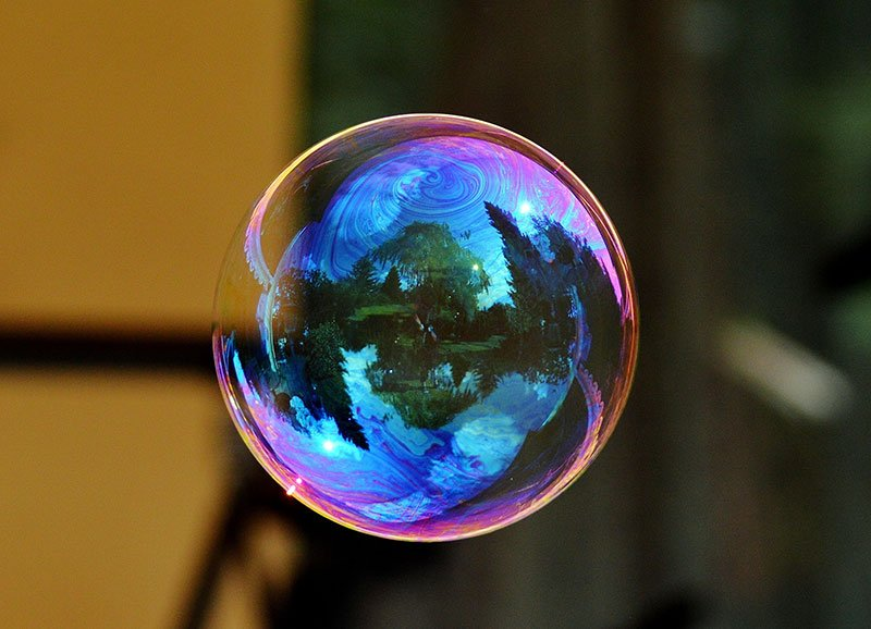 Dawn Dish Soap Bubble